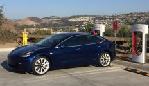 "2. Tesla Model 3 Range: 310 miles; 136/123 mpg-e. Still maintaining a long waiting list as production ramps up slowly, the new compact Tesla Model 3 sedan is a smaller and cheaper, but no less stylish, alternative, to the fledgling automaker's popular Model S. This estimate is for a Model 3 with the ""optional"" (at $9,000) long-range battery, which is as of this writing still the only configuration available. The standard battery, which is expected to become available later in 2018, is estimated to run for 220 miles on a charge."