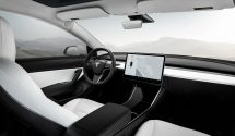 Tesla Model 3 Performance - White Interior - Wide