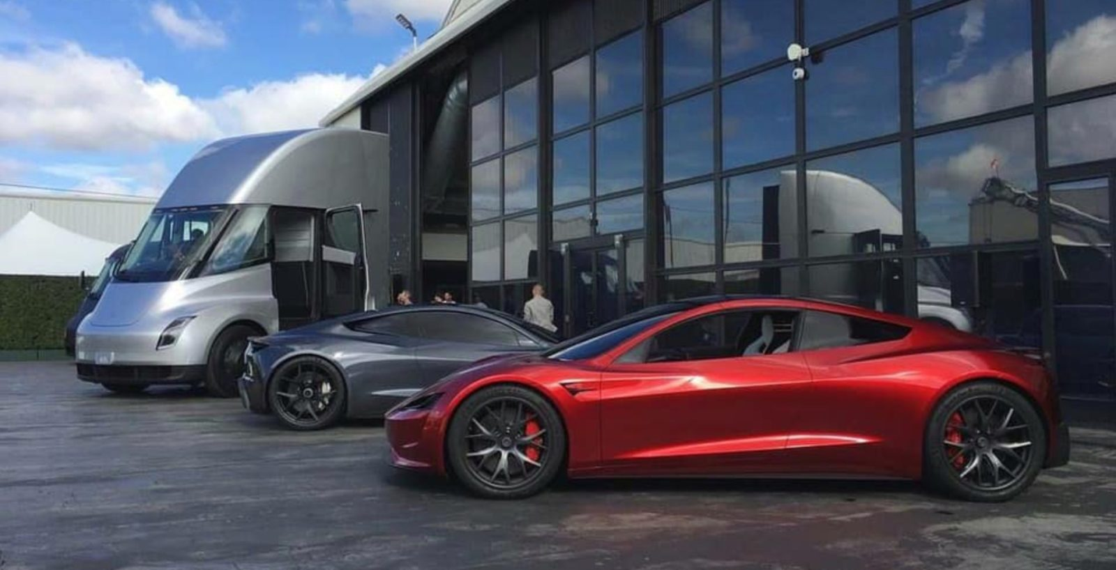 Tesla is giving away over 80 new Roadsters for free, which