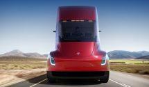 Tesla Semi exterior front