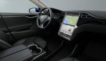 Inside the Tesla Model S, Image Credit: Tesla