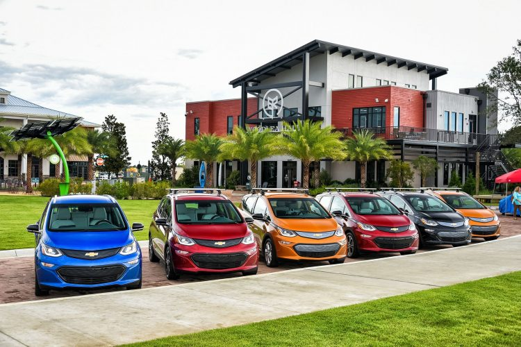 Chevrolet Bolt EVs - finding more US driveways every month!