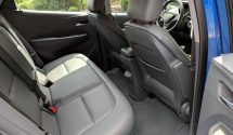 The rear seating area offers plenty of room for passengers