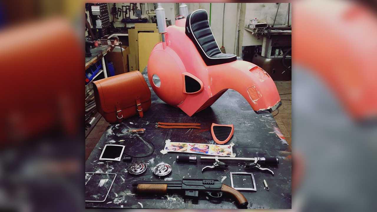 BelyBel DBZ Scooter Build