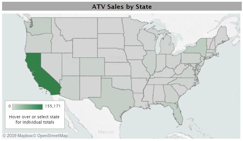 Top States For EV Registration