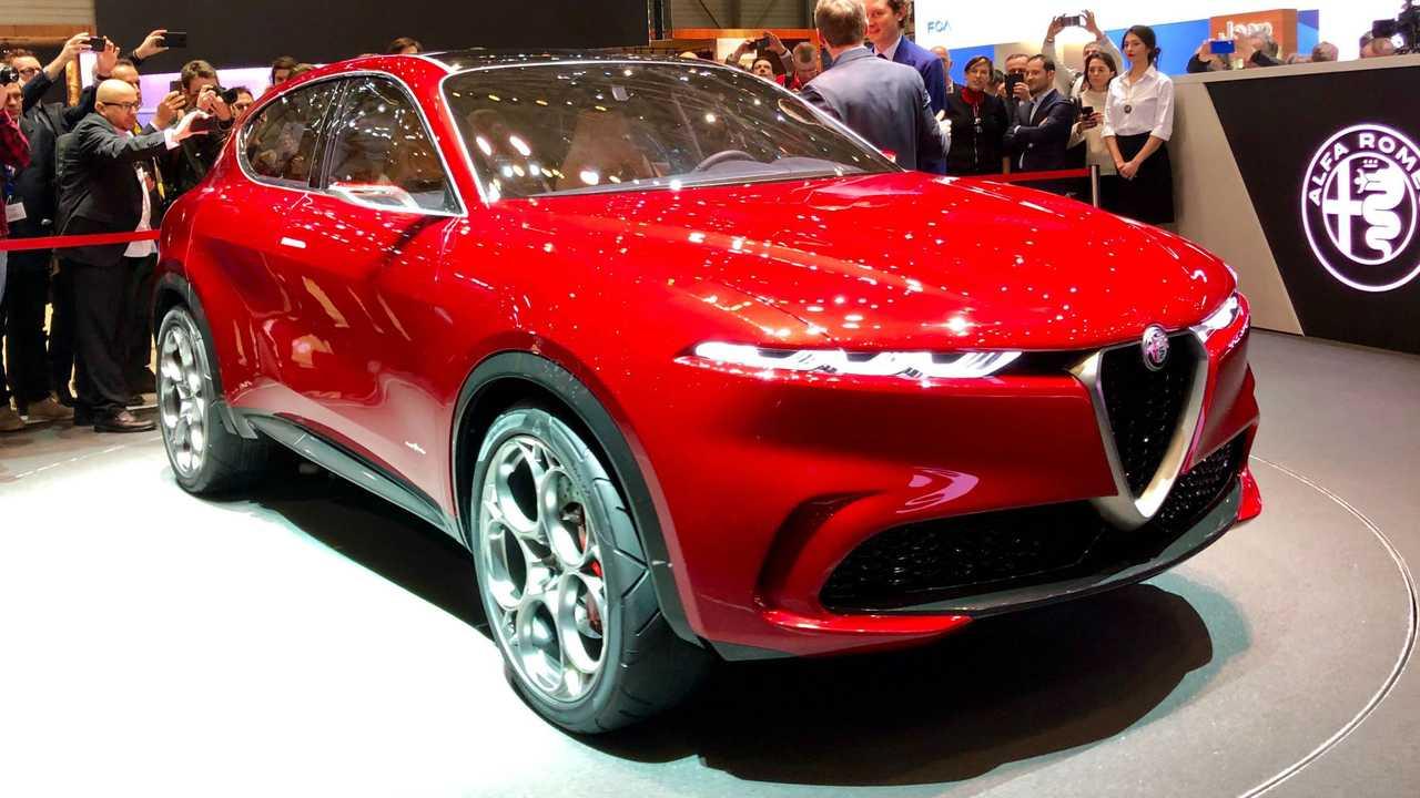Alfa Romeo Tonale, live photos