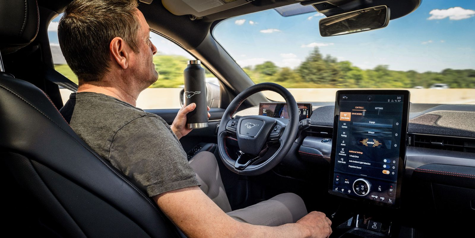Ford Announces Hands Free Mode With Driver Facing Camera For Mustang Mach E Liberty Plugins